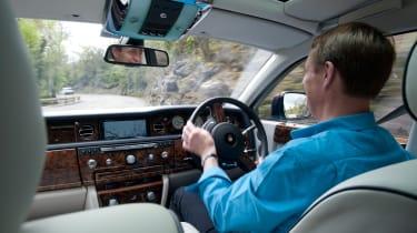 Rolls-Royce Phantom II driving