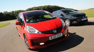 Honda Jazz Si vs SEAT Ibiza FR