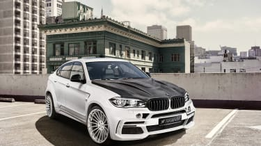 Hamann BMW X6 M50d - front three quarter