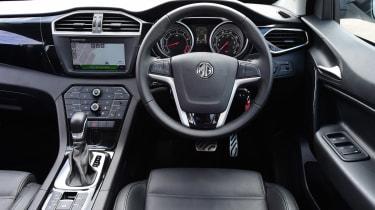 MG GS vs rivals - MG GS interior