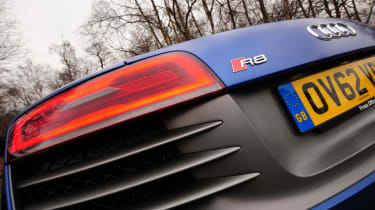 Used Audi R8 - rear detail