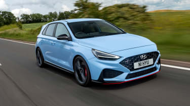 Hyundai i30 N Performance DCT - front tracking