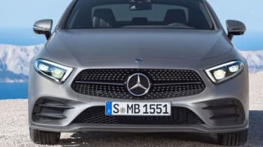 Mercedes CLS leaked pic