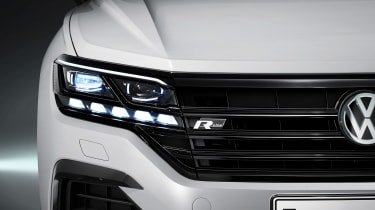Volkswagen Touareg - front light 2