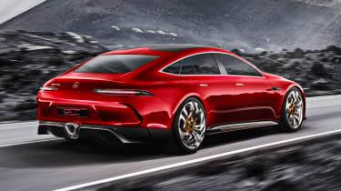 Mercedes-AMG GT Concept - rear action