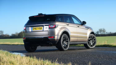 Range Rover Evoque SD4 - rear static