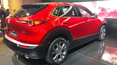 Mazda CX-30 Geneva rear quarter