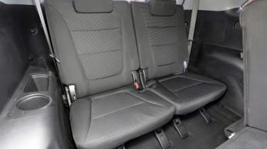 Used Kia Sorento - rear seats
