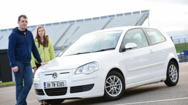 Volkswagen Polo BlueMotion - front