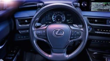 Lexus UX 300e - steering wheel