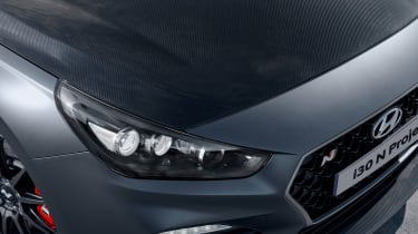 Hyundai i30 N Project C - bonnet
