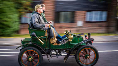 London to Brighton Veteran Car Run  -  side tracking