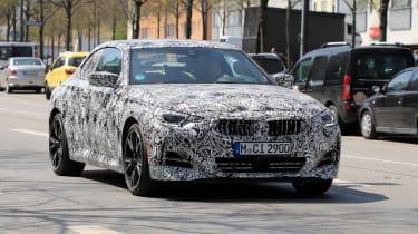 BMW 2 Series 2021 spy - front