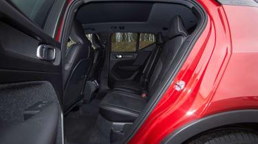 Volvo XC40 rear seats
