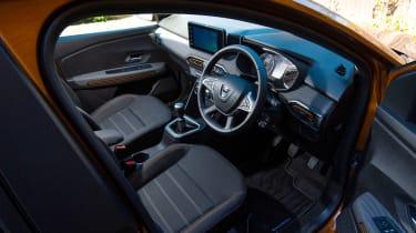 Dacia Sandero Stepway long termer - first report interior