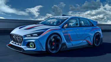 Hyundai RN30 Concept - front tracking