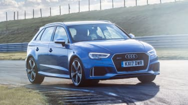 Audi RS3 long-term test review - front