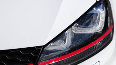 Volkswagen Golf GTI lights and grille