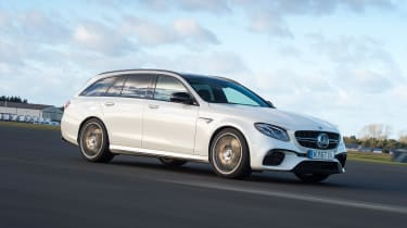 Mercedes-AMG E 63 S long termer - first report front action