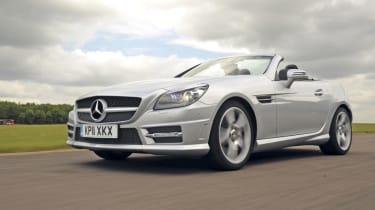 Mercedes SLK 200 front