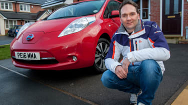 Electric car case study - Nissan Leaf Mark Tebbutt header