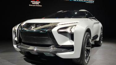 Mitsubishi e-Evolution concept - Tokyo front