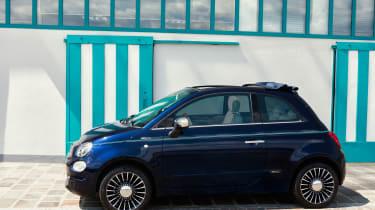 Fiat 500 Riva - side