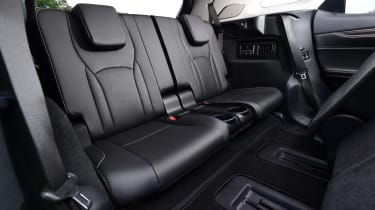 Lexus RX L - back seats