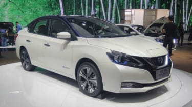 New Nissan Sylphy - Beijing front
