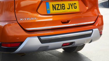Nissan X-Trail Platinum Edition - back bumper