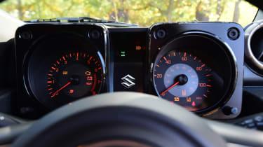 Suzuki Jimny - dials