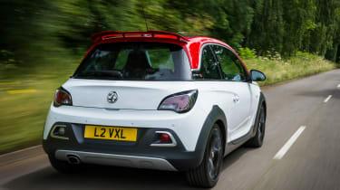 Vauxhall Adam S Rocks 2016 - rear tracking