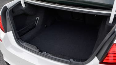 BMW M5 Competition Pack boot
