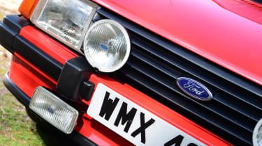 Ford Escort XR3 - front detail