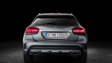 Mercedes GLA 2017 - silver rear