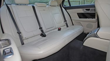 Used Jaguar XF - rear seats