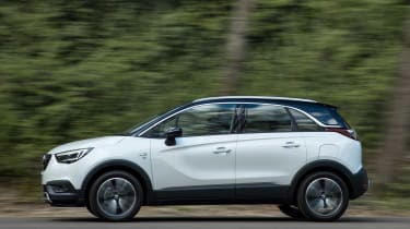 Vauxhall Crossland X - side