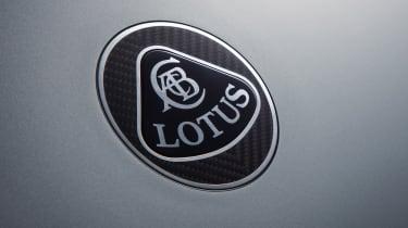 Lotus Evija badge