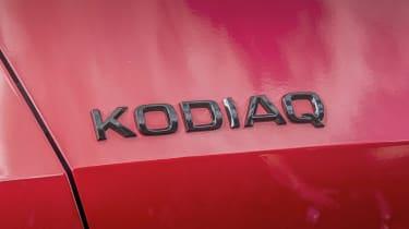 Skoda Kodiaq vRS - badge