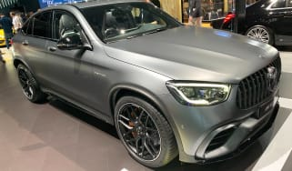 Mercedes-AMG GLC 63 S Coupe - New York front