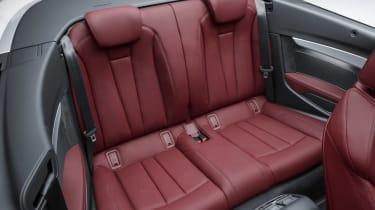 New Audi A5 Cabriolet 2017 rear seats