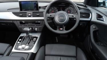 Audi A6 dash