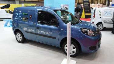 Renault Kangoo EV blue