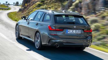 BMW 3 Series Touring - rear