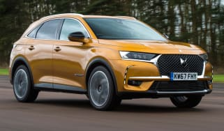 DS 7 Crossback front tracking
