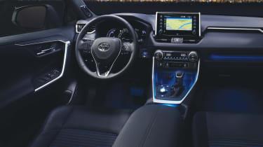 New Toyota RAV4 - cabin