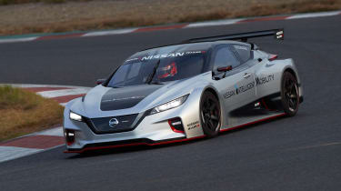 Nissan Leaf Nismo RC - front cornering
