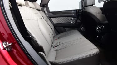 Bentayga rear seats