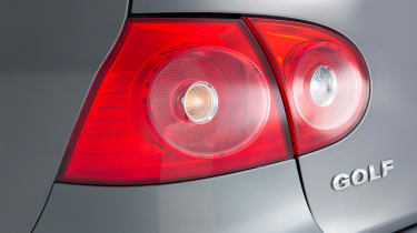 Volkswagen Golf Mk5 (used) - rear light detail