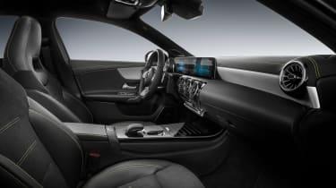 New Mercedes A-Class - studio front seats